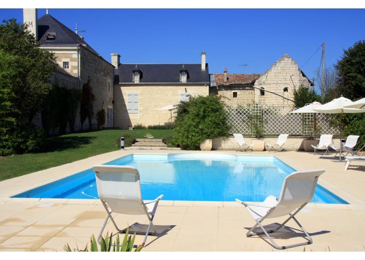 Villas With Pools In Loire Valley
